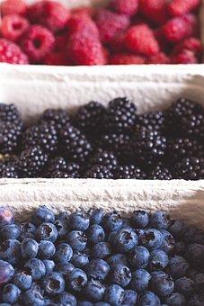 Berries, Blueberries, Blackberries, Raspberries, Fruit