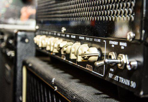 Guitar Amplifier, Amplifier, Rock, Guitar, Guitarist