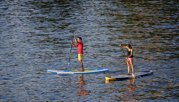 Padding, Stand Paddle, Stand Up Paddle Surfing