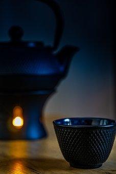 Tee, Teapot, Teacup, Drink, Breakfast, Hot, Ceramic