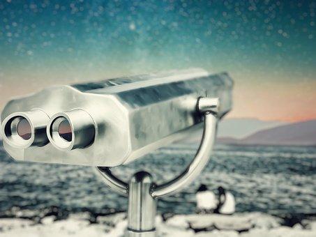 Spacescape, Telescope, Stars, Curiosity, Exploration
