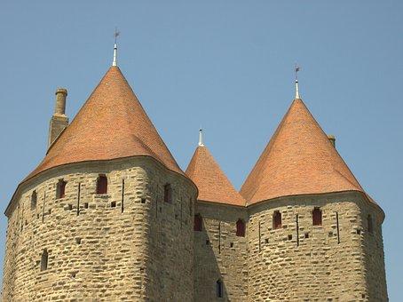 Castle, France, Unesco, Carcasonne, Tourism, History