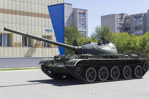 Tank, Machine, Weapons, Cannon, Tower, Military, War