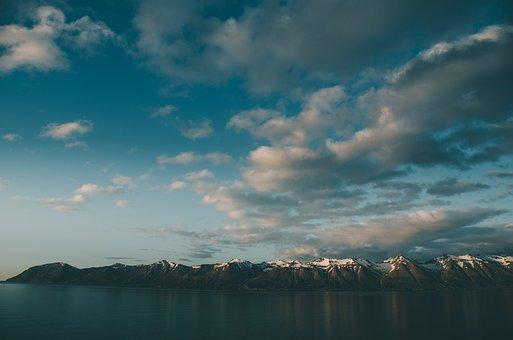 Dalvik, Landscape, Mountains, Mountain, Nature, Weather