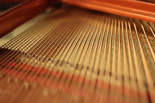 Wing, Piano, Blurry, Blur Effect