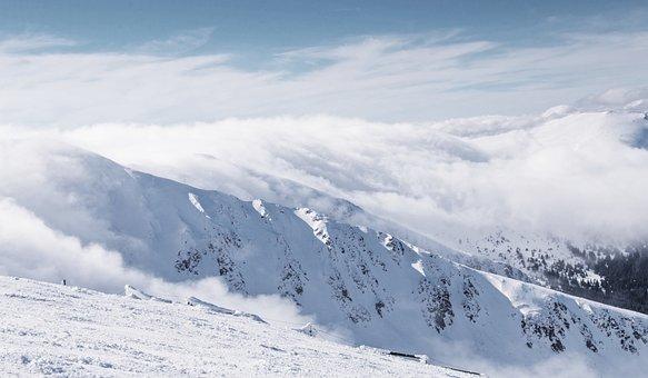 Chopok, Low Tatra, Ski Snowboard, Skiing, The Fog