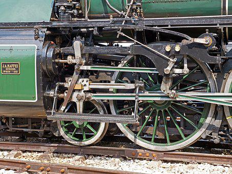 Steam Locomotive, Drive, Four-cylinder Compound Engine
