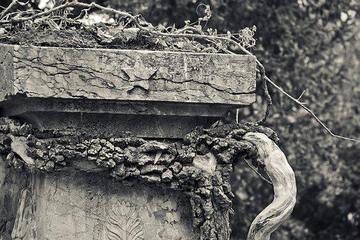 Tombstone, Grave, Cemetery, Tomb, Death, Stone, Weird