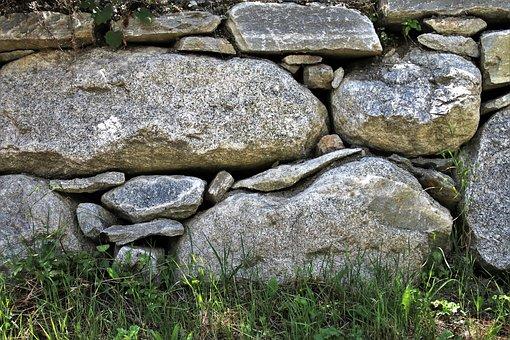 Stone Wall, Stone, Rocks, Harsh, Walls, Gray, Designs