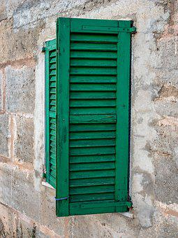 Window, People, Wood, Green, House, Architecture