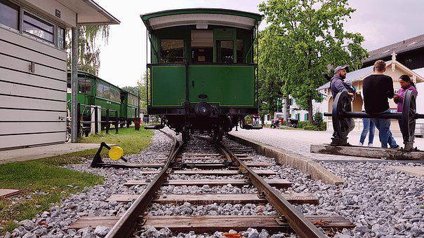 Railway, Historically, Old, Antique, Wagon