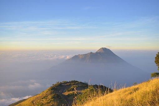 Merapi, Mountain, Indonesia, Volcano, Java, Outdoor