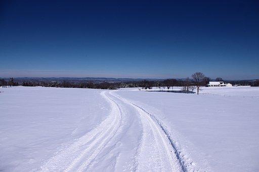 Winter In The Ozarks, Winter, Snow, Landscape, Cold