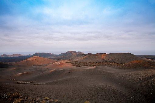Fire Mountain, Lanzarote, Mountain, Lava, Volcano, Ash