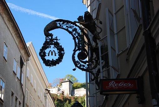 Mcdonalds, Salzburg, Antique