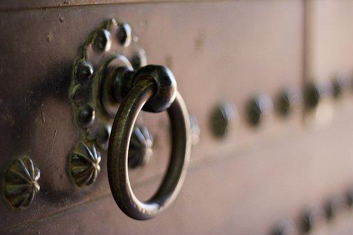 Metal, Door Knocker, Knocker, Handle, Spain, Spanish