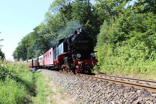 Narrow Gauge Railway, Molli, Doberan, Kühlungsborn