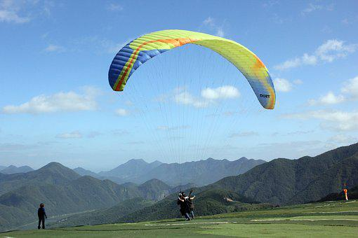 Paragliding, Leisure Sports, Flight, Nature, Wind, Air