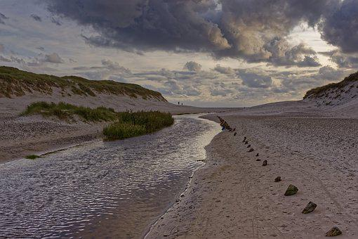 Landscape, Nature, Mood, North Sea, Northsea