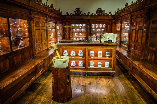 Museum Of Science And Technology, Pharmacy, Old