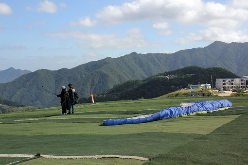 Paragliding, Leisure Sports, Flight, Wind, Air, Outdoor