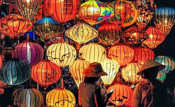 Light, Color, Night, Landscape, Yellow, Orange, Red