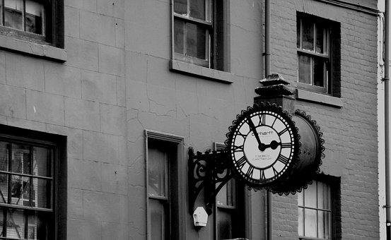 Clock, Time, Minutes, Nostalgia, Antique, Silver, Retro