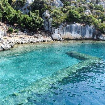 Kekova, Nature, Turkey, Tourism, Rocks, Travel