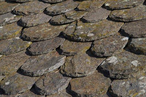 Slate, Granite, Roofing, Lozère