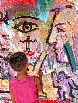Street Art, Article, Painting, Graffiti, Murals
