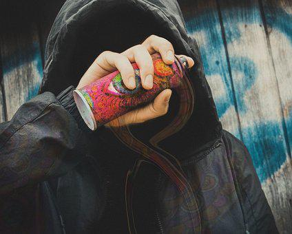 Spray, Tagger, Prohibited, Streetart, Graffiti, Wall