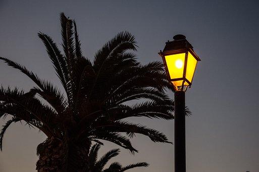 Cyprus, Vacations, Summer, Recovery, Lantern, Night
