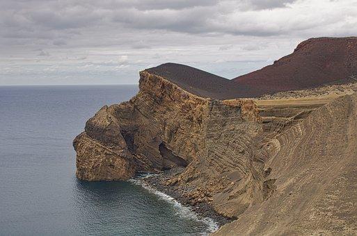Nature, Landscape, Eruption, The Volcano Of Capelinhos