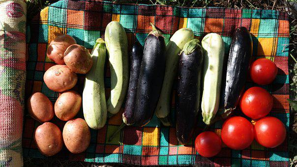 Vegetables, Tomato, Potatoes, Tomatoes, Red, Food