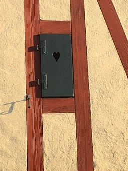 Wood, Woods, Wall, Old, Retro, Door, Family, Heart