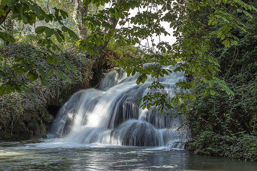 Waterfall, River, Nature, Landscape, Brook, Scenic