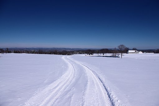 Winter In The Ozarks, Winter, Snow, Landscape, Cold