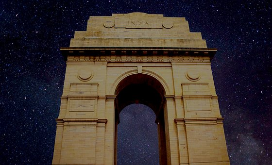 India, India-gate, Gate, Architecture, Heritage, Famous