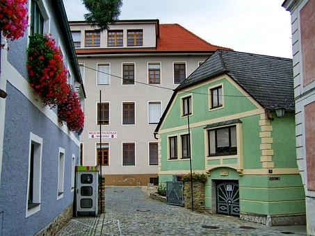 Street Details, Spitz Town, Austria