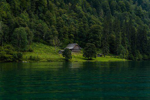 Königssee, Lake, Water, Blue-green Water, Nature