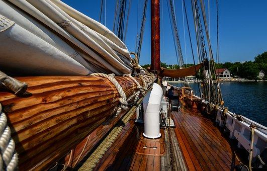 Boat, Canada, Boats, Port, Nova Scotia, Bluenose