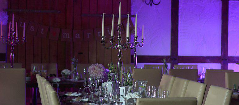 Cover, Wedding Table, Table, Board, Celebration