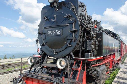 Brocken Railway, Railway, Steam Locomotive, Nostalgia