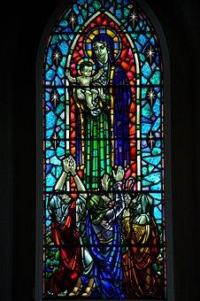 Glass Window, Lead Glass, Religion, Church
