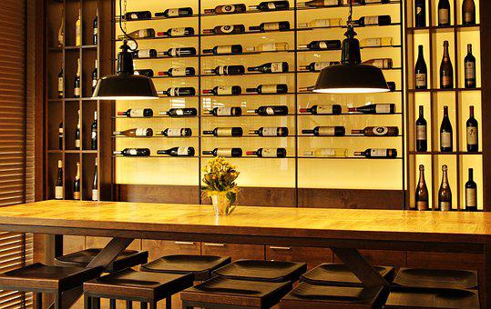 Wine Bottles, Wine, Wine Rack, Exhibition, Bottles