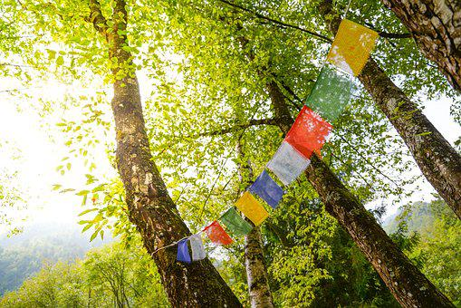 Tibet, Flags, Buddhism, Flag, Prayer, Tibetan, Prayers