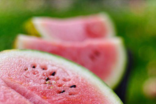 Watermelon, Watermelons, Slices Of Watermelon, Fruit