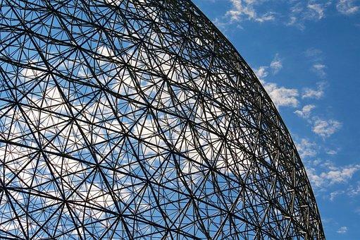 Biophere, Jean Drapeau Parc, Montreal, Canada, Landmark