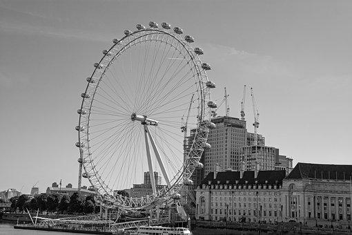 Londeneye, London, Tourism, Sights, City, Thames