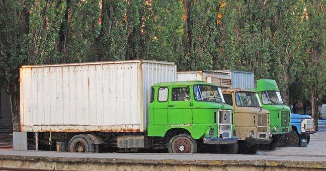 Trucks, Old, Old Trucks, Kamioni, Camion, Ifa, Ifa W 50